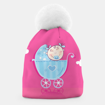 Thumbnail image of Beanie with Hand-drawn Love baby Collection, Live Heroes