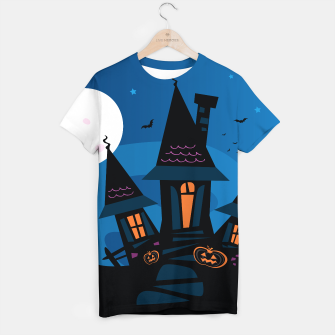Thumbnail image of Creative painted T-Shirt collection : Witch Home BLUE, Live Heroes