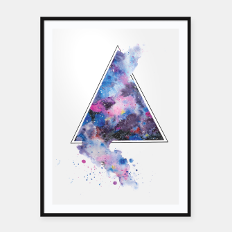 Miniature de image de Triangle Space Framed poster, Live Heroes