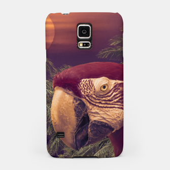 Thumbnail image of Tropical Style Collage Design Poster Samsung Case, Live Heroes