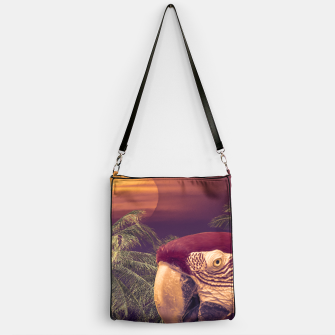 Thumbnail image of Tropical Style Collage Design Poster Handbag, Live Heroes