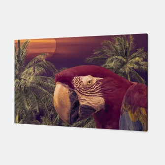 Thumbnail image of Tropical Style Collage Design Poster Canvas, Live Heroes