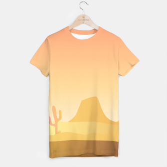 Thumbnail image of Men designers T-Shirt : Gold MEXICO Dessert, Live Heroes
