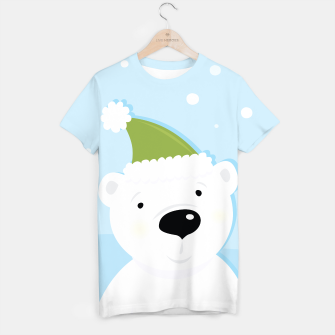 Thumbnail image of Amazing Tshirt with hand-drawn Teddy white, Live Heroes