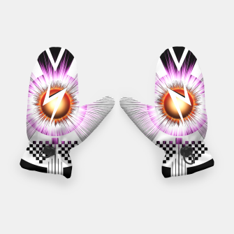 Thumbnail image of S-Core V TC Graphic Art Gloves, Live Heroes