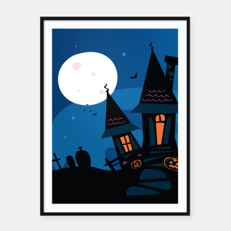 Miniatur Framed poster for KIDSROOMS : Haunted atmospheric House, Live Heroes