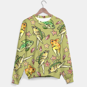 Thumbnail image of Reverse mermaid Sweater, Live Heroes