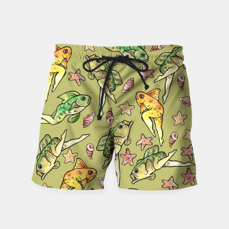 Thumbnail image of Reverse mermaid Swim Shorts, Live Heroes