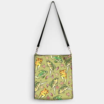 Thumbnail image of Reverse mermaid Handbag, Live Heroes