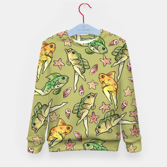 Thumbnail image of Reverse mermaid Kid's Sweater, Live Heroes