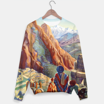Thumbnail image of Peru of the Incas Travel Poster Art Sweater, Live Heroes