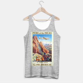Thumbnail image of Peru of the Incas Travel Poster Art Tank Top regular, Live Heroes