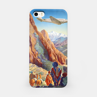 Thumbnail image of Peru of the Incas Travel Poster Art iPhone Case, Live Heroes