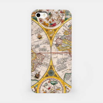 Thumbnail image of ORBIS TERRA RVM Old-Cartographic Map iPhone Case, Live Heroes