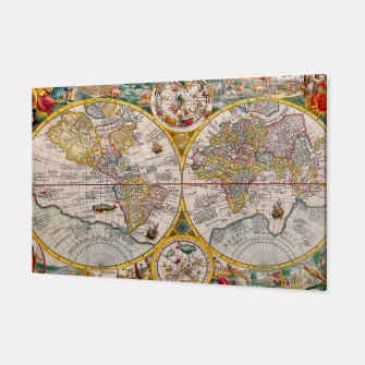 Thumbnail image of ORBIS TERRA RVM Old-Cartographic Map Canvas, Live Heroes