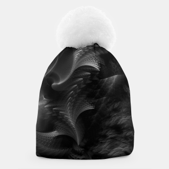 Thumbnail image of Taidushan Swirls Fractal Abstract Beanie, Live Heroes