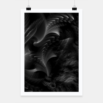 Thumbnail image of Taidushan Swirls Fractal Abstract Poster, Live Heroes
