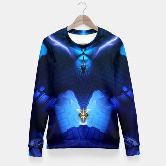 Thumbnail image of The Chamber Of Talidos TRM-FPTee Fitted Waist Sweater, Live Heroes