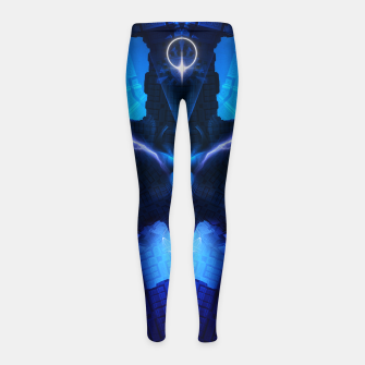 Thumbnail image of The Chamber Of Talidos TRM-FPTee Girl's Leggings, Live Heroes