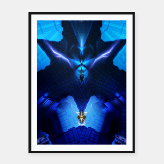 Thumbnail image of The Chamber Of Talidos TRM-FPTee Framed poster, Live Heroes