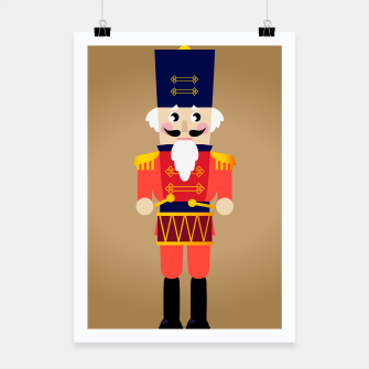 Miniaturka POSTER WITH RED LONDON SOLDIER DRAWING, Live Heroes