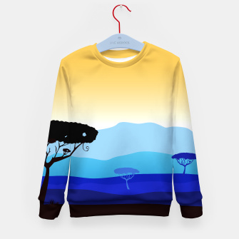 Thumbnail image of Kids Sweater with Africa cute hand-drawn Art, Live Heroes