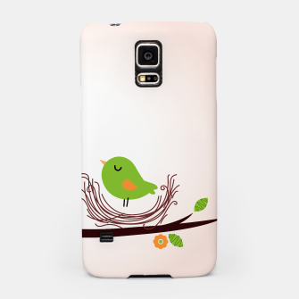 Thumbnail image of Samsung designers Case with Green bird , Live Heroes