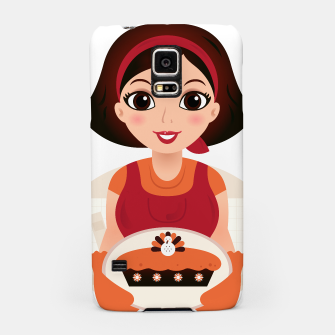 Thumbnail image of Samsung designers Case with Painted Thanksgiving girl, Live Heroes