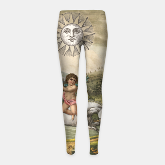 Thumbnail image of THE SUN MAJOR ARCANA Girl's Leggings, Live Heroes