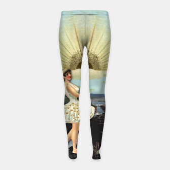 Thumbnail image of TEMPERANCE MAJOR ARCANA Girl's Leggings, Live Heroes