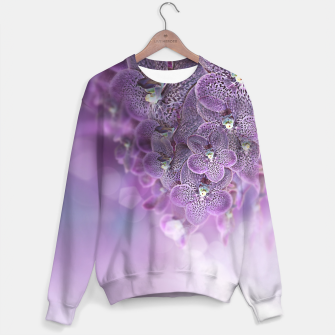 Thumbnail image of Violet Orchids Sweater, Live Heroes