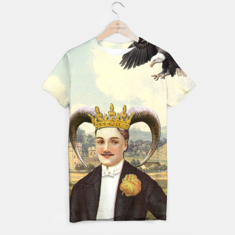 Thumbnail image of THE EMPEROR TAROT CARD T-shirt, Live Heroes