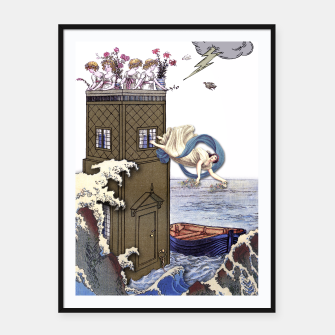 Thumbnail image of THE TOWER MAJOR ARCANA Framed poster, Live Heroes