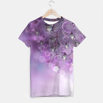 Thumbnail image of Violet Orchids T-shirt, Live Heroes