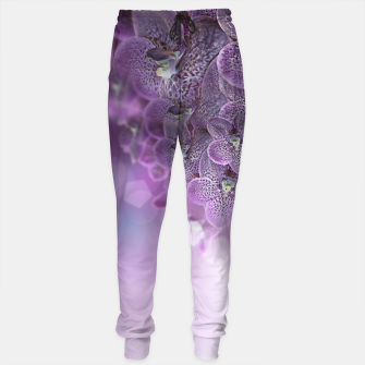 Thumbnail image of Violet Orchids Sweatpants, Live Heroes
