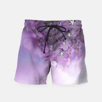 Thumbnail image of Violet Orchids Swim Shorts, Live Heroes