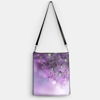Thumbnail image of Violet Orchids Handbag, Live Heroes