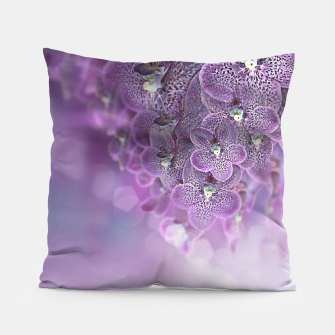 Thumbnail image of Violet Orchids Pillow, Live Heroes