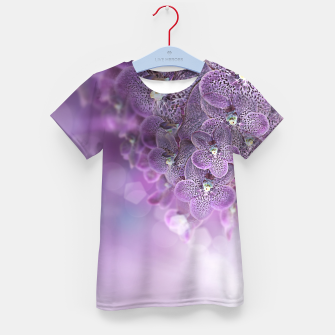 Thumbnail image of Violet Orchids Kid's T-shirt, Live Heroes
