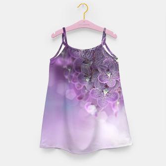 Thumbnail image of Violet Orchids Girl's Dress, Live Heroes