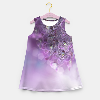 Thumbnail image of Violet Orchids Girl's Summer Dress, Live Heroes