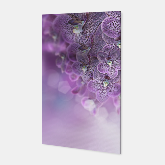 Thumbnail image of Violet Orchids Canvas, Live Heroes