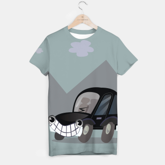 Thumbnail image of T-shirt with Black bad Car : based on Original drawing, Live Heroes