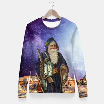 Thumbnail image of THE HERMIT MAJOR ARCANA Fitted Waist Sweater, Live Heroes