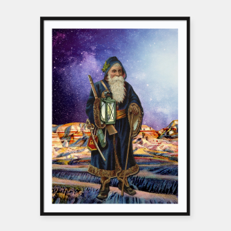 Thumbnail image of THE HERMIT MAJOR ARCANA Framed poster, Live Heroes