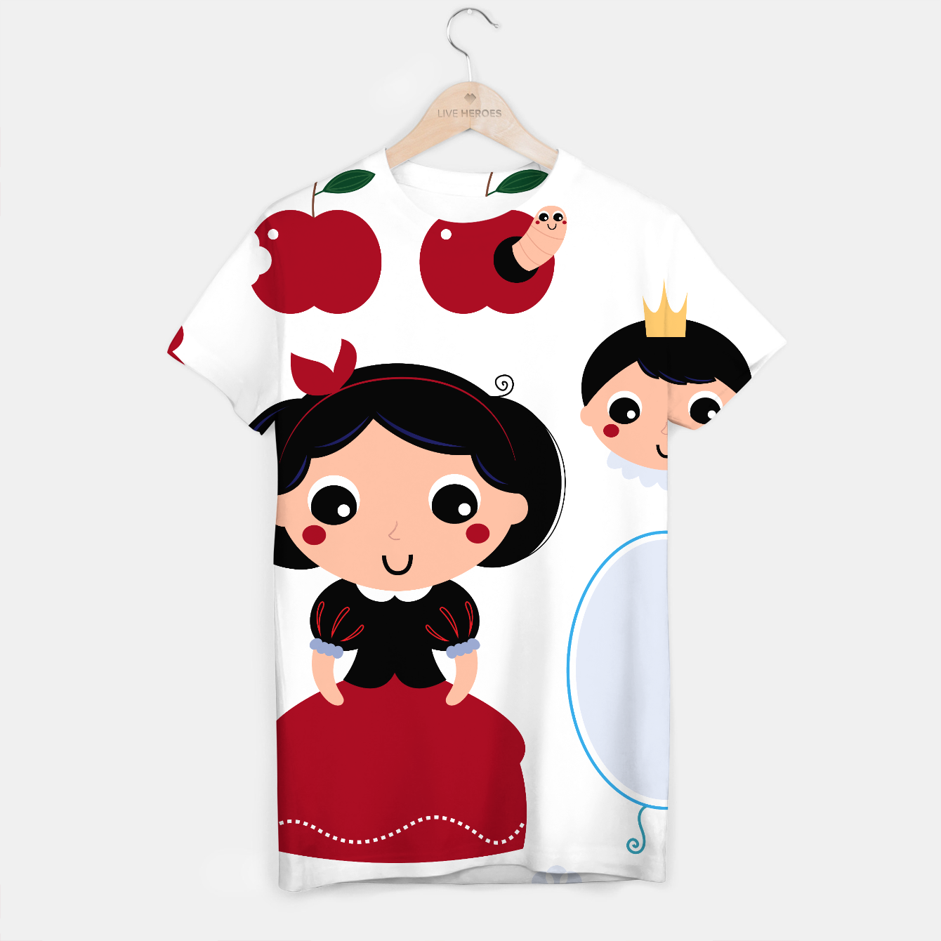 Image of T-Shirt : Lovable collection with Fairytale characters - Live Heroes