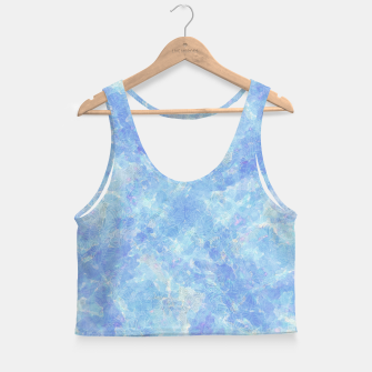 Thumbnail image of clrs Crop Top, Live Heroes