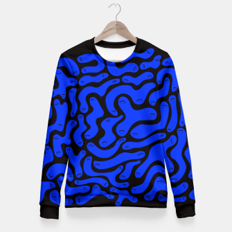 Thumbnail image of Squiggles Fitted Waist Sweater, Live Heroes