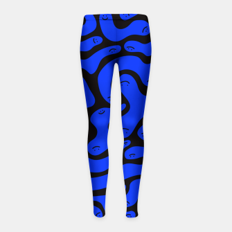 Thumbnail image of Squiggles Girl's Leggings, Live Heroes