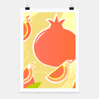 Thumbnail image of CREATIVE POSTER : POMEGRANATE ORANGE, Live Heroes